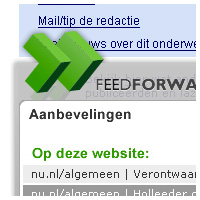 Informatie widget FeedForward