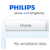 Online tool product Philips (SleepCoach)